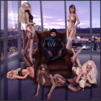 mdm's lingerie models