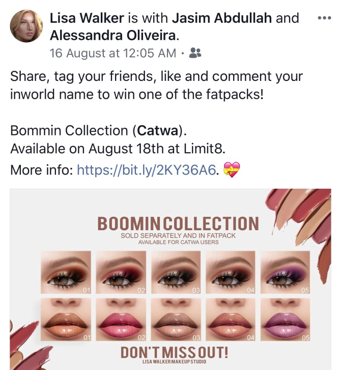 Designers stop with the Like, Comment and share marketing scam it